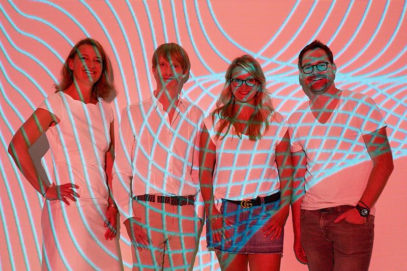 Das Managementteam von EAST END - bestehend aus Oliver Golz , Christiane Wiemann, Marc Matern und Nicole Martens.