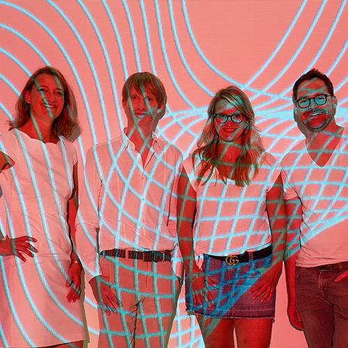 Das Managementteam von EAST END - bestehend aus Oliver Golz, Christiane Wiemann, Marc Matern und Nicole Martens